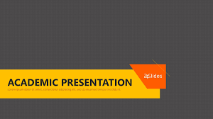 Ppt Template For Academic Presentation Academic Presentation Free Powerpoint Template