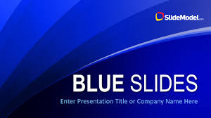 Blue Power Point Templates Blue Slides Powerpoint Template