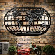 world map metal wall art aliexpress
