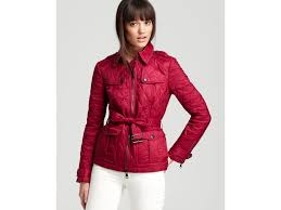 Lyst - Burberry brit Toppling Quilted Jacket in Pink & Gallery. Previously sold at: Bloomingdale's · Women's Quilted Jackets Adamdwight.com