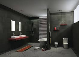Black And Gray Bathrooms thesouvlakihouse com