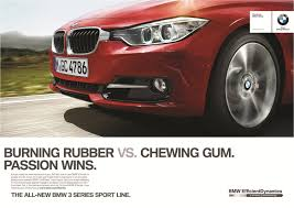 BMW 3 Series bmw 3 series advert : BMW's Print Marketing for New 3-Series | Todd Bianco's ...