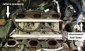 the original mechanic 3 1l engine gm replacing intake manifold 3 unplug two connectors one large one behind the engine and one small one right in front atop the front valve cover now just pull up on the whole rail