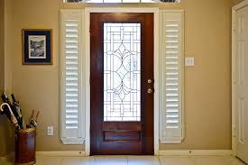 front door window treatmentsDoor Window Blinds Inside  Window Treatments Design Ideas