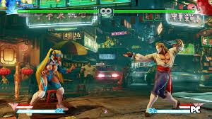 street fighter v beta ps4 vs pc screenshot comparison