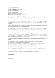 Sample Company Letter For Australian Visa Granitestateartsmarket Com