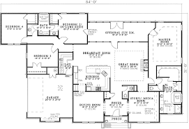 house plans with two master suites. Two Master Suites - 59914ND | Architectural Designs House Plans With V