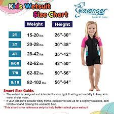 Seavenger Wetsuit Size Chart Seavenger Cadet 2mm Kids Shorty Wetsuit