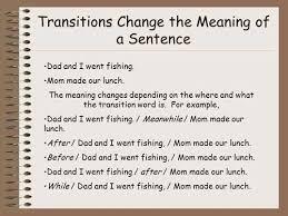 Transition Essay Examples Transition Sentences For Argumentative Essays College
