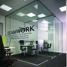 office wall decor. N.SunForest Quotes Wall Decal Teamwork Definition Office Decor Inspirational Lettering Sayings Art S