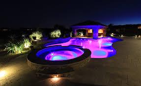inground pools at night. Pool Lighting Inground Pools At Night