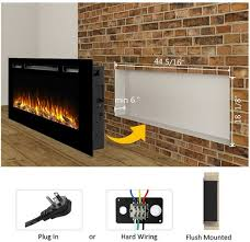 best electric fireplace inserts 2021