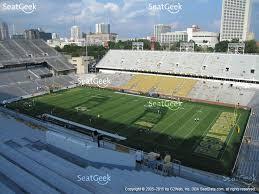 bobby dodd stadium section 201 view