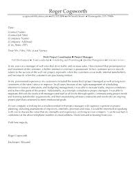 Project Manager Cover Letters It Project Manager Construction