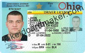 Id - Virtual Ohio Fake License Maker Drivers Card