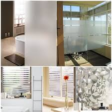 office glass frosting. [1+1] Static Removable Privacy Window Film/ Frosted Film /Glass Decoration Office Glass Frosting