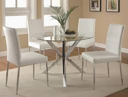 glass and chrome dining table diy dining table chairs hd cute home idea with extra apollo