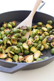 y roasted garlic brussels sprouts