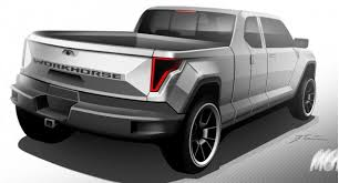 Workhorse range-extended electric pickup truck announced for future