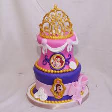 Disney Princess Cake With Tiara Cakecentralcom