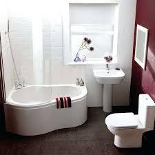 small freestanding corner tub ideas