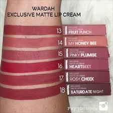 lihat harga wardah exclusive lip cream wardah lipstik lip cream terbaru