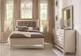 Sofia Vergara Paris Silver 5 Pc King Bedroom | Bedroom | Pinterest ...