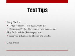 apush review civil rights in the s everything you need to  test tips essay topics types of protest civil rights wars etc