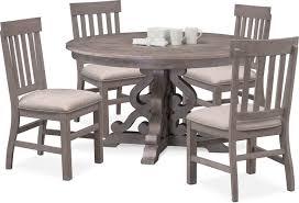 astonishing dining room furniture vinyl pallet varnished cherry wood blue counter pedestal rectangle um brown large