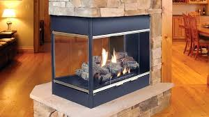 three sided gas fireplace 3 sided gas fireplace inserts double sided gas fireplace dimensions
