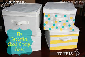 Decorative Storage Boxes For Closets DIY Decorative Closet Storage Boxes The Lovebugs Blog 4