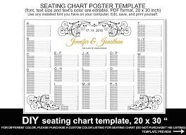 28 Reception Seating Chart Template Robertbathurst