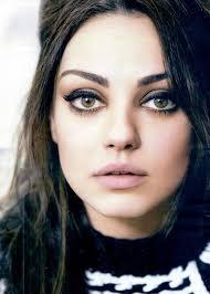 beautiful big brown eyes makeup look milakunis eyemakeup makeup mascara cateye browneyes inspiration