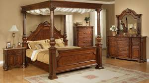 ornate bedroom furniture. Elements International Olivia Queen Traditional Ornate Rich Brown Contemporary Canopy Bedroom Furniture Sets With
