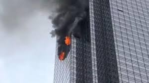 Image result for trump tower brassner fire images