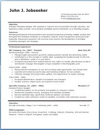Good Resume Templates Free Custom Best Professional Resume Template 48 For Templates Free Regarding