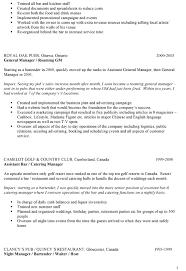 Bar Resume Examples. resume examples for bartender bartender cover .