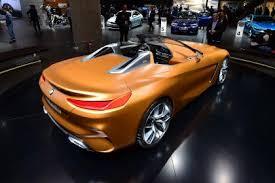 2018 bmw z4. delighful 2018 bmw concept z4  frankfurt show rear and 2018 bmw z4