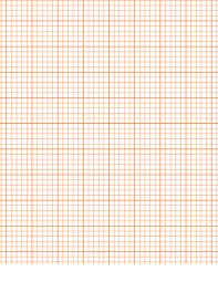 Printable Graph Paper Orange Printable Graph Paper