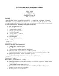 Sample Resume For A Receptionist Sample Resume Receptionist Resume Sample For Receptionist Position