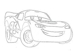 free printable lightning mcqueen coloring pages kids coloring book