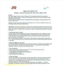 Corporate Minutes Template Corporation Free Templates For