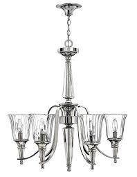 chandeliers 6 light chandelier with shades portfolio