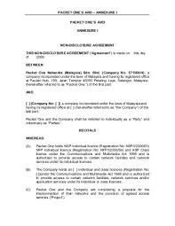 Mutual Confidentiality Agreement Mutual Confidentiality Agreements Mutual Non Disclosure Agreement 46