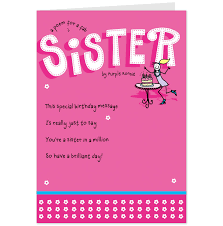 Funny Sister Poems