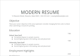 Examples Of Simple Resumes Classy Examples Of Simple Resumes A Simple Resume Sample Samples Of Simple