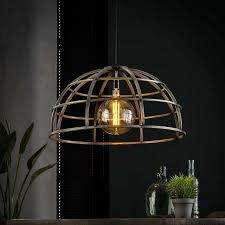 Pendelleuchte Hängelampe Dome Design Vintage Metall