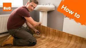 how to lay sheet vinyl flooring you