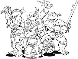 Teenage Ninja Turtles Coloring Pages Inspirational Teenage Mutant