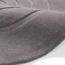 spiral rug grey round circle in wool pile land of rugs gray design 13
